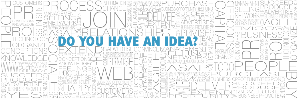 Do you have an idea?